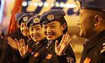 Chinese riot police take Liberia peacekeeping mission