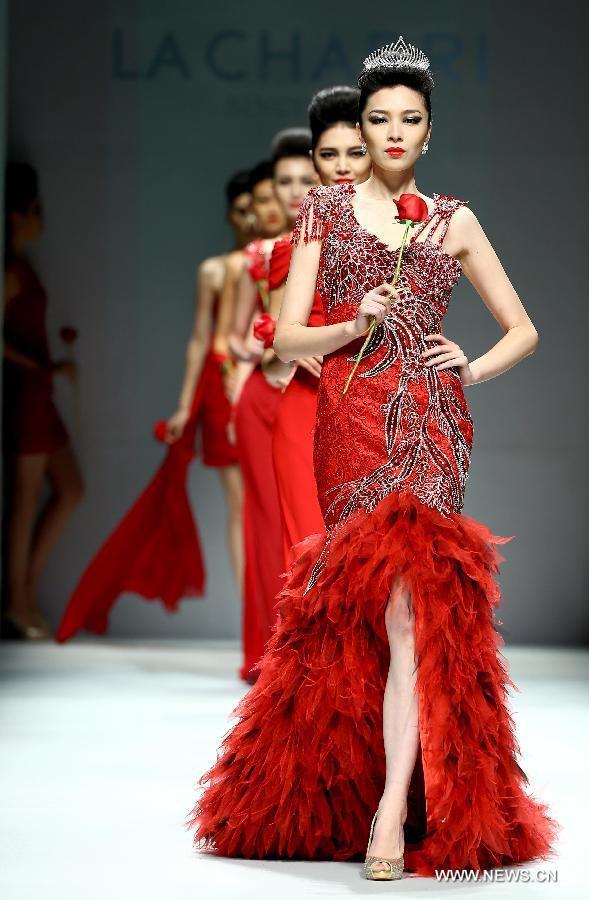 China Fashion Week La Charri Dress Collection Show