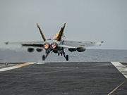 U.S. Navy Carrier Strike Group stages military drills
