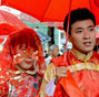 100 couples of migrant workers attend group wedding ceremony in Fuzhou