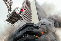 Fire guts 22-storey Nigeria commercial building in Lagos