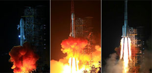 China launches probe and rover to moon
