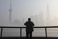 Shanghai shrouded in heavy fog