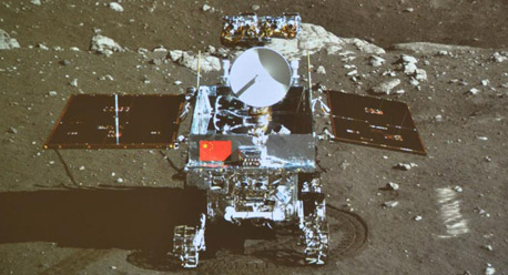 Photos: China's moon rover, lander photograph each other