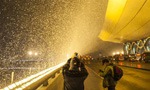 Spring City Kunming witnesses snowfall