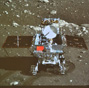 China's moon rover, lander photograph each other