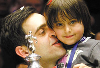 Ronnie O'Sullivan: My children mean the world to me