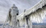 Photographer captures frozen scenery in U.S.