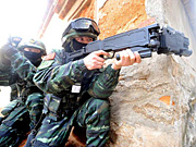 Armed Police hold anti-terrorism drill in SE China's Xiamen