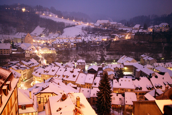 Snowy Milky Cheesy Fribourg Of Switzerland People S