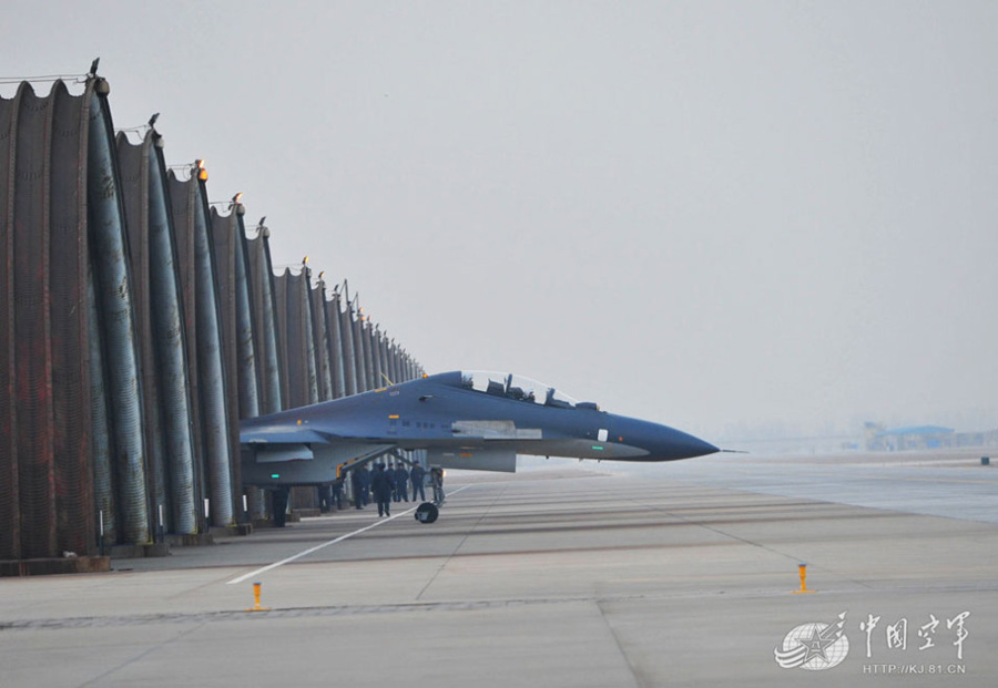 su30 fighter formation taking off for training peoples