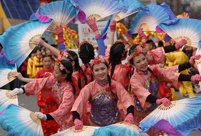 Highlights of Chinese New Year celebrations around the world