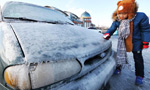 Severe coldness freezes large parts of China