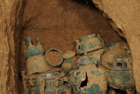 51 bronze sacrificial utensils unearthed in Shaanxi province