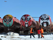 A glimpse of China's Zhongshan station in Antarctica