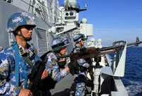 Chinese frigate completes its 14th escort mission