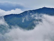 Touching the clouds: A visit to Mount Huaying in Sichuan