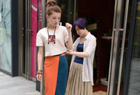High fashion trend welcomed by costumers in Changsha