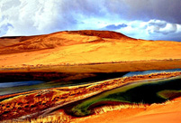 Badain Jaran Desert: Amazing curves of nature
