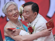 Golden wedding celebration in Chongqing